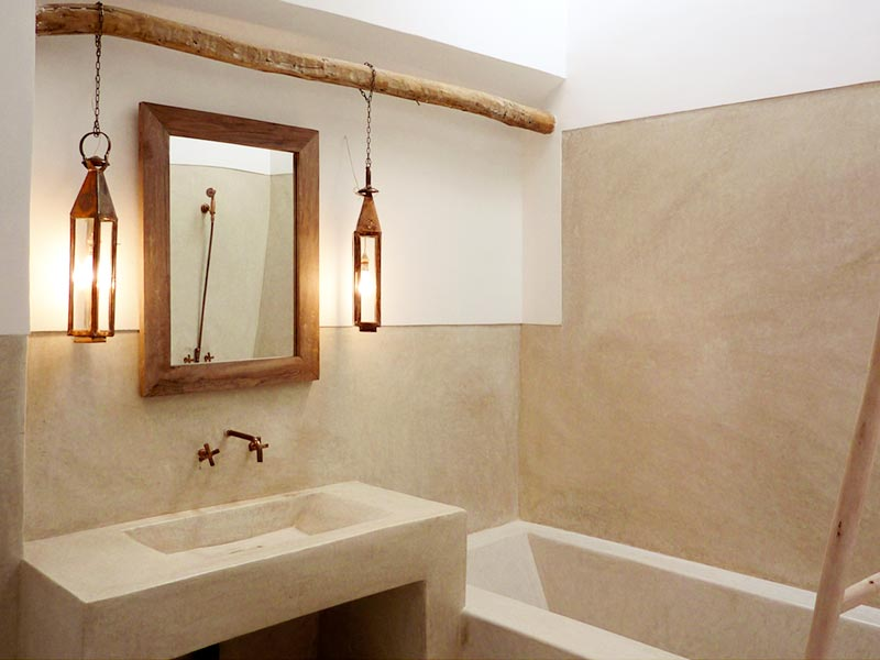 Stunning Salle De Bain Tadelakt Design Contemporary - House Design ...