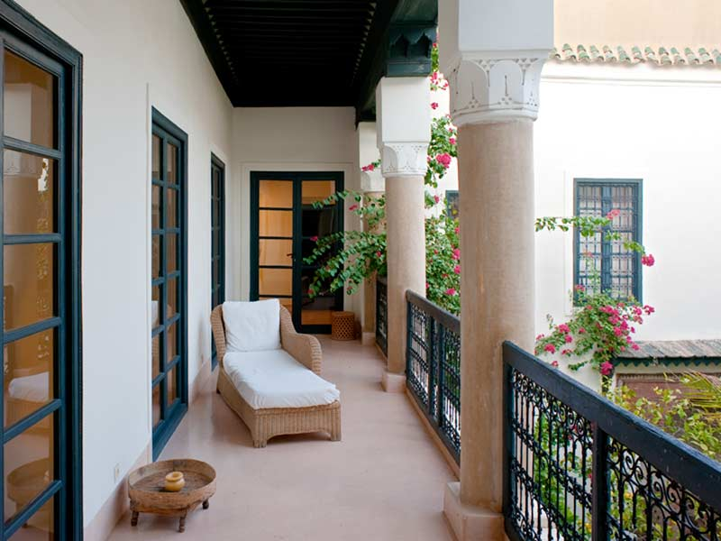 Balcony Berber Suite Junior