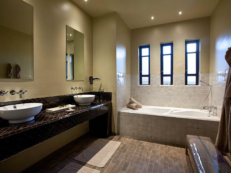Bathroom ground floor bath